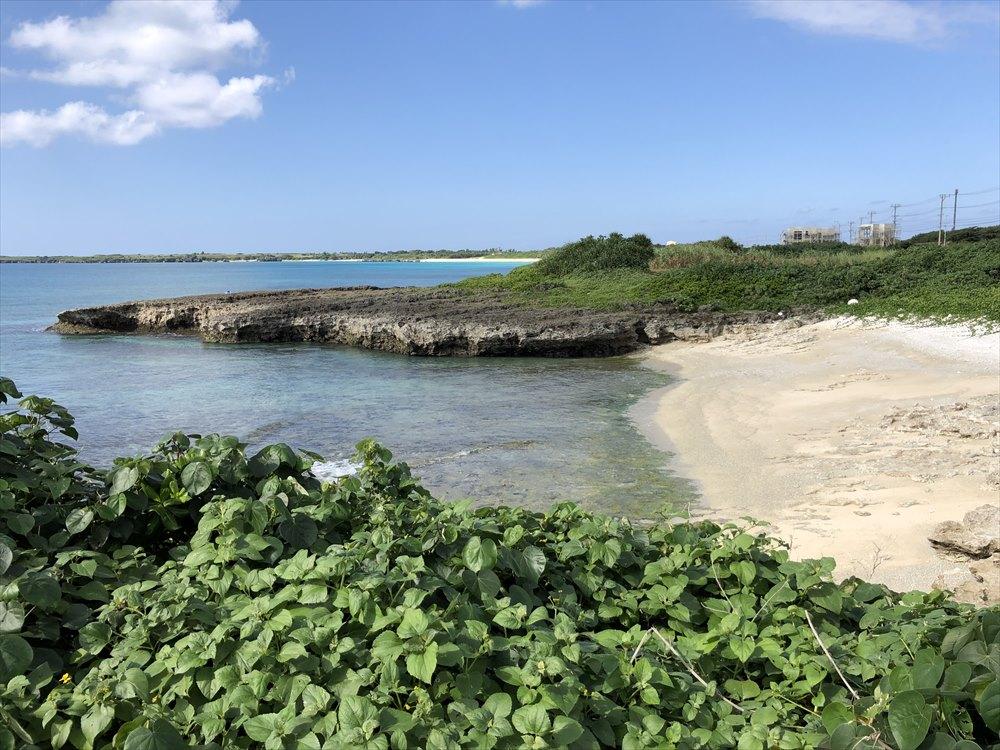 イラフSUIラグジュアリーコレクションホテル沖縄宮古から近くのビーチの眺め