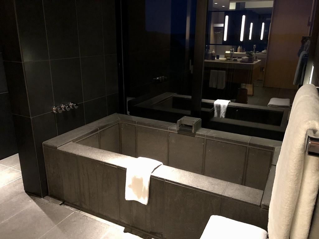 アマネムのナギスイートのお風呂