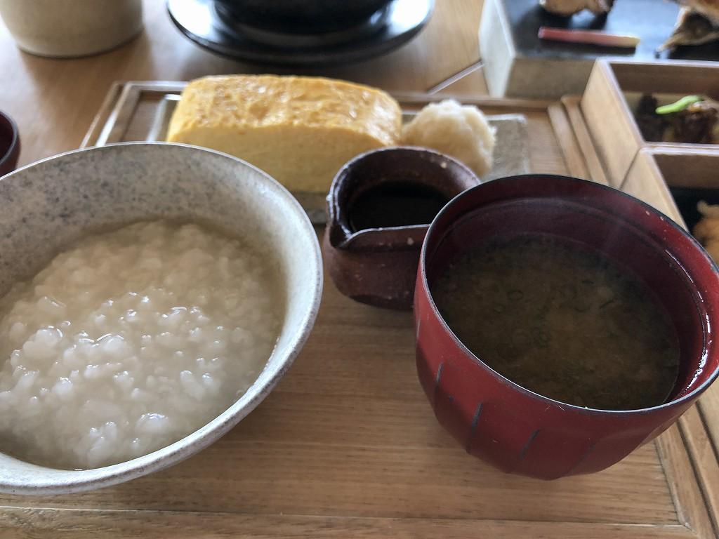 アマネムの和箱朝食の卵焼き