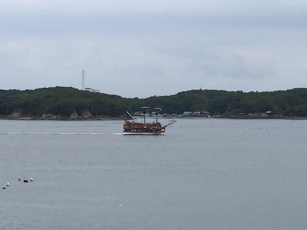英虞湾の遊覧船