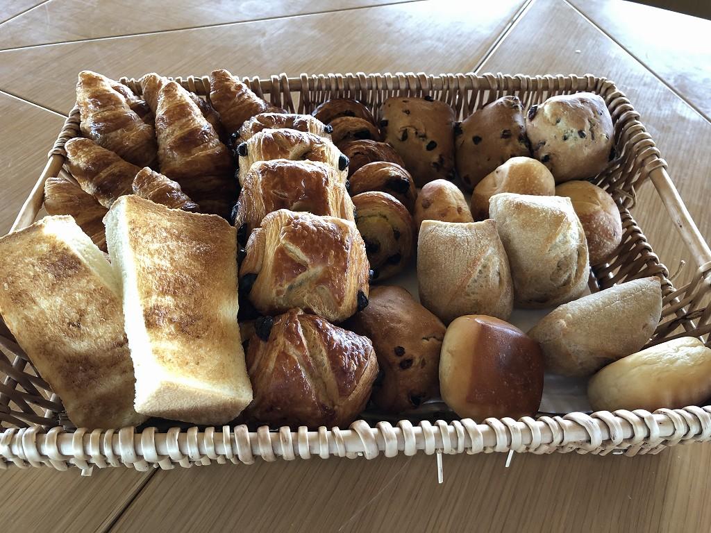 アマネムのダイニングで朝食(アメリカンブレックファスト)2