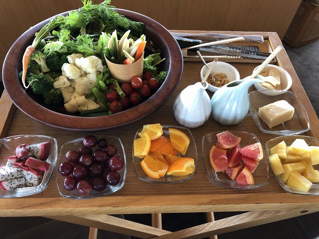 アマネムのダイニングで朝食(アメリカンブレックファスト)3