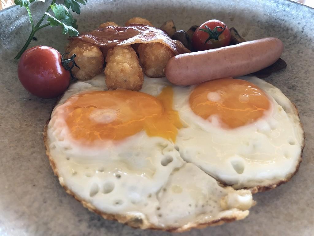 アマネムのダイニングで朝食(アメリカンブレックファスト)7