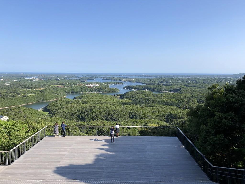 横山展望台からの英虞湾(快晴)1