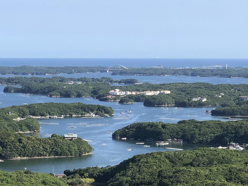 横山展望台からの英虞湾(快晴)3