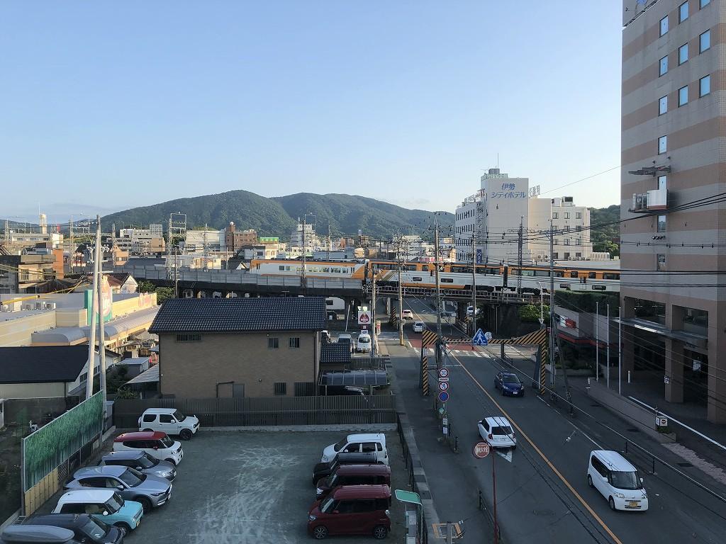伊勢シティホテルアネックスからの眺め