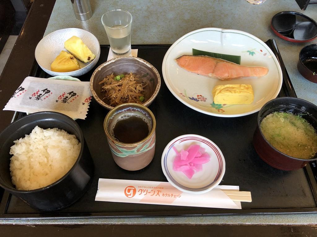 伊勢シティホテルアネックスの朝食2