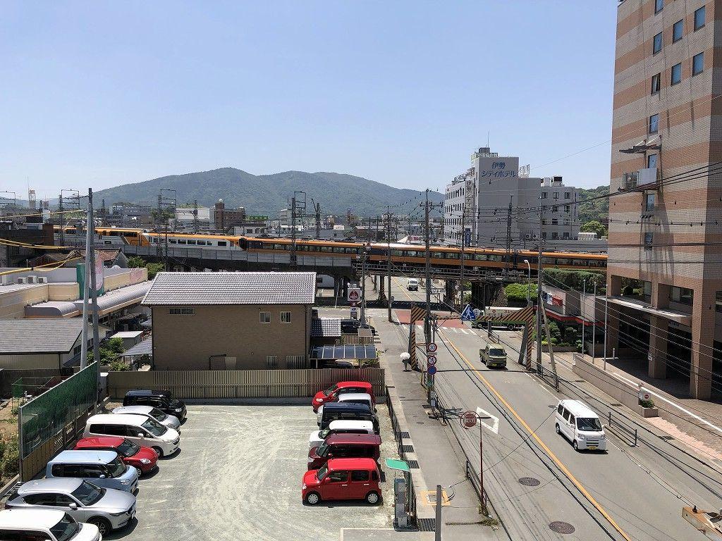 伊勢シティホテルアネックスからの眺め(快晴)