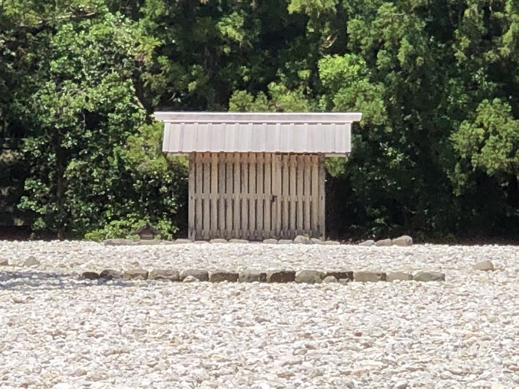 伊勢神宮の外宮の古殿地3