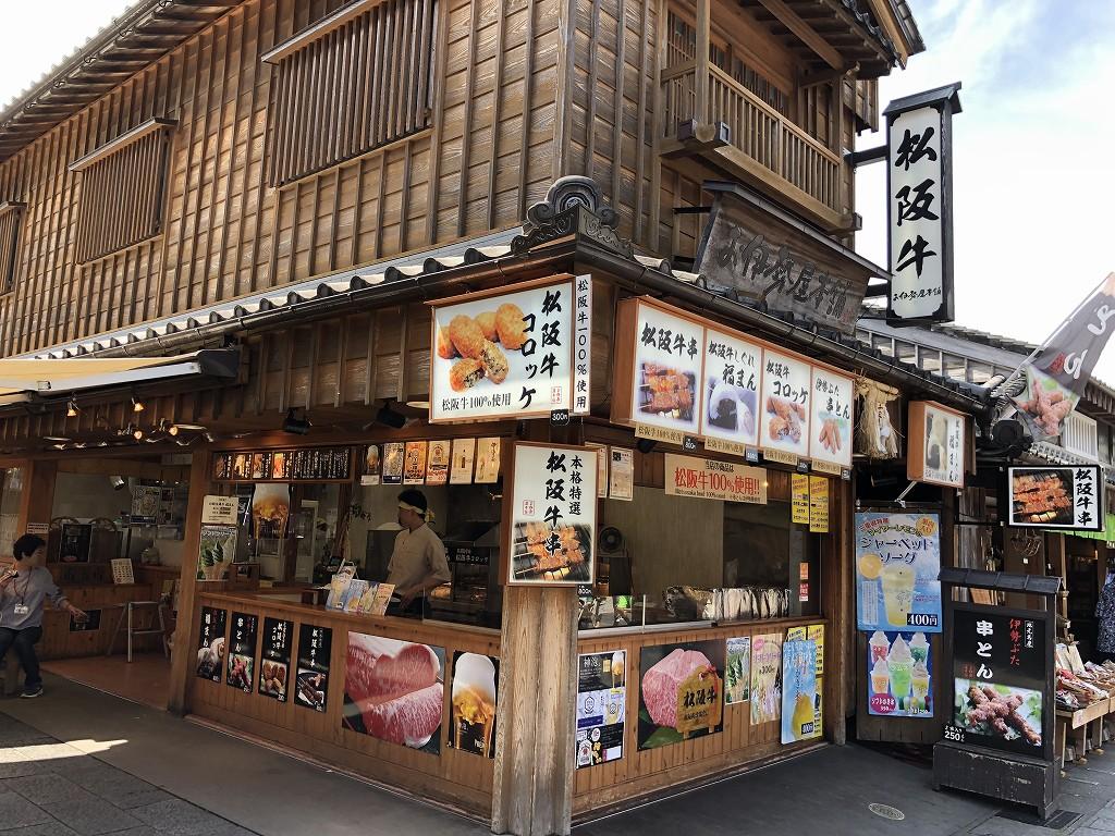 おはらい町の松阪牛コロッケ1