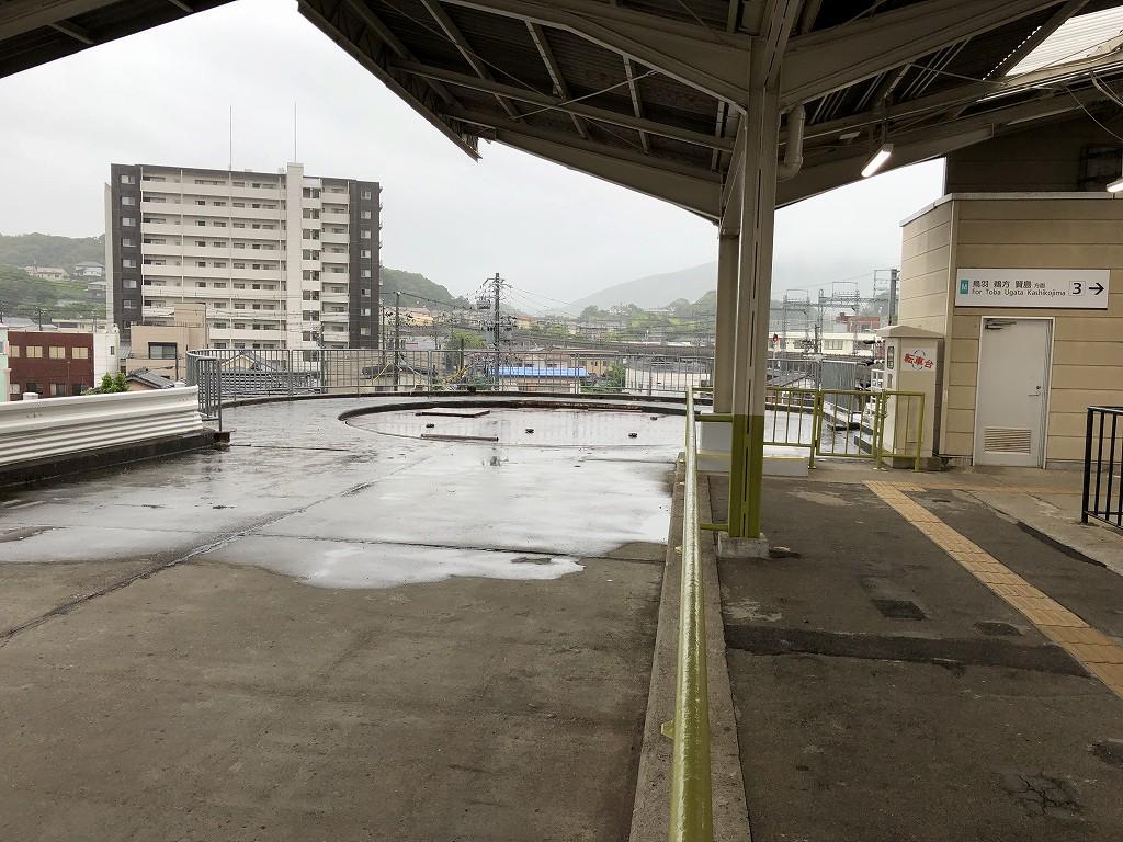 近鉄宇治山田駅の転車台1