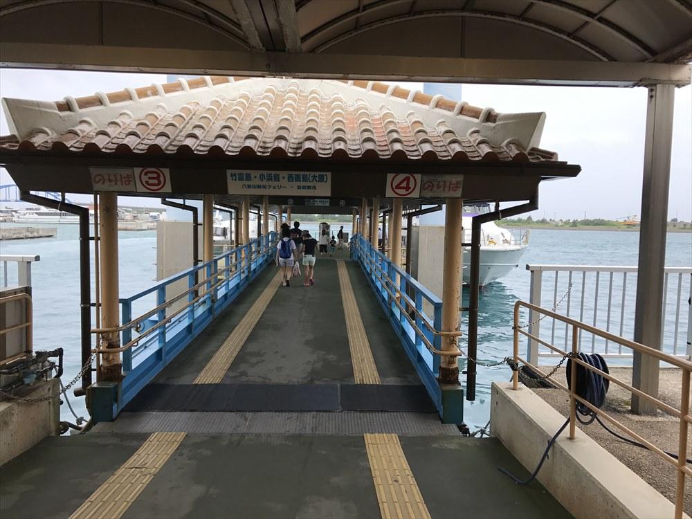 石垣島から竹富島の船(うみかじ)