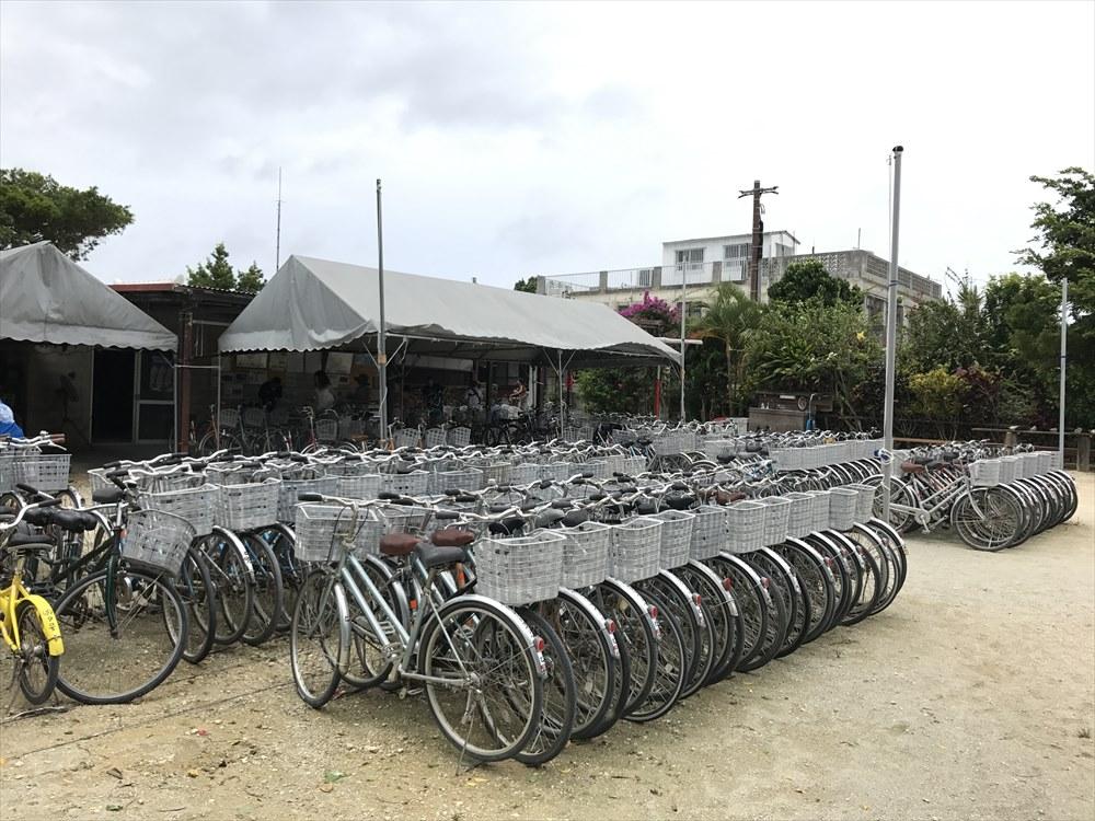 竹富島の友利サイクル