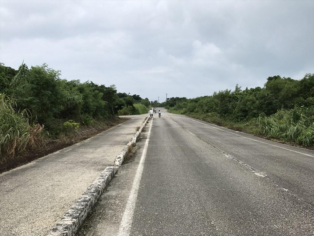 竹富島の道路2