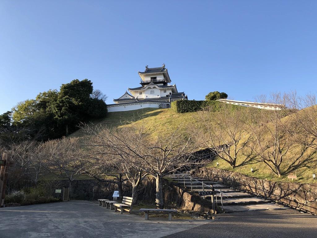 掛川城の天守閣2