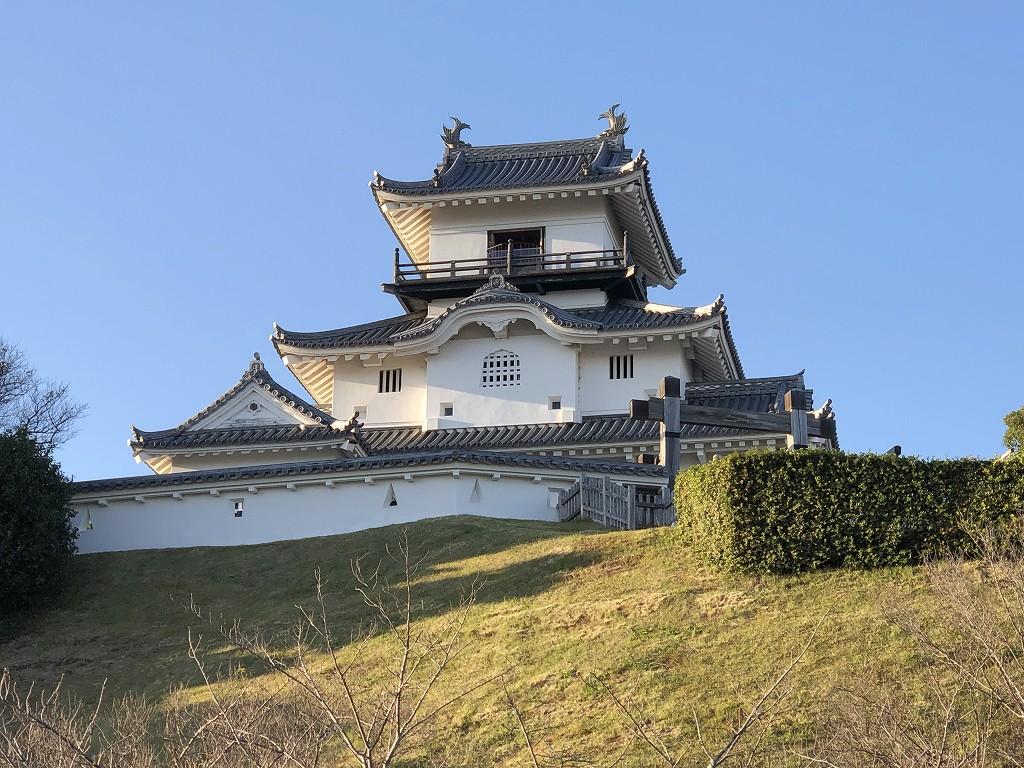 掛川城の天守閣3