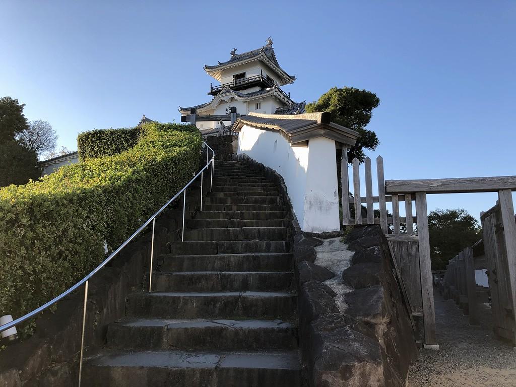 掛川城の天守閣5