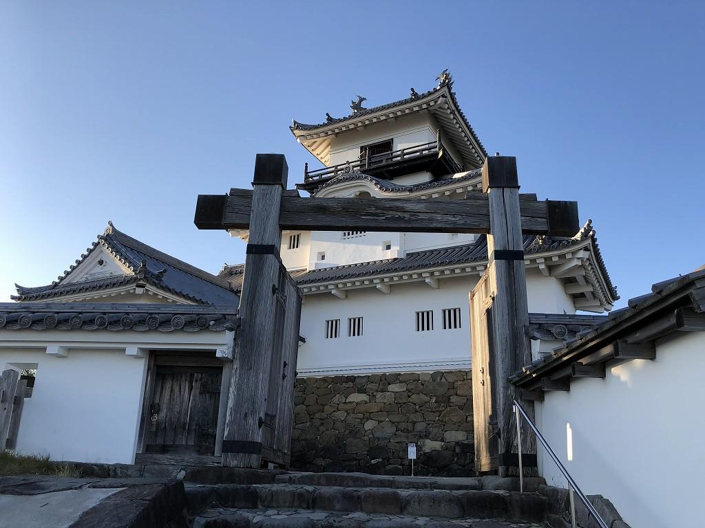 掛川城の天守閣6
