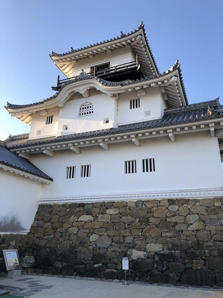 掛川城の天守閣7