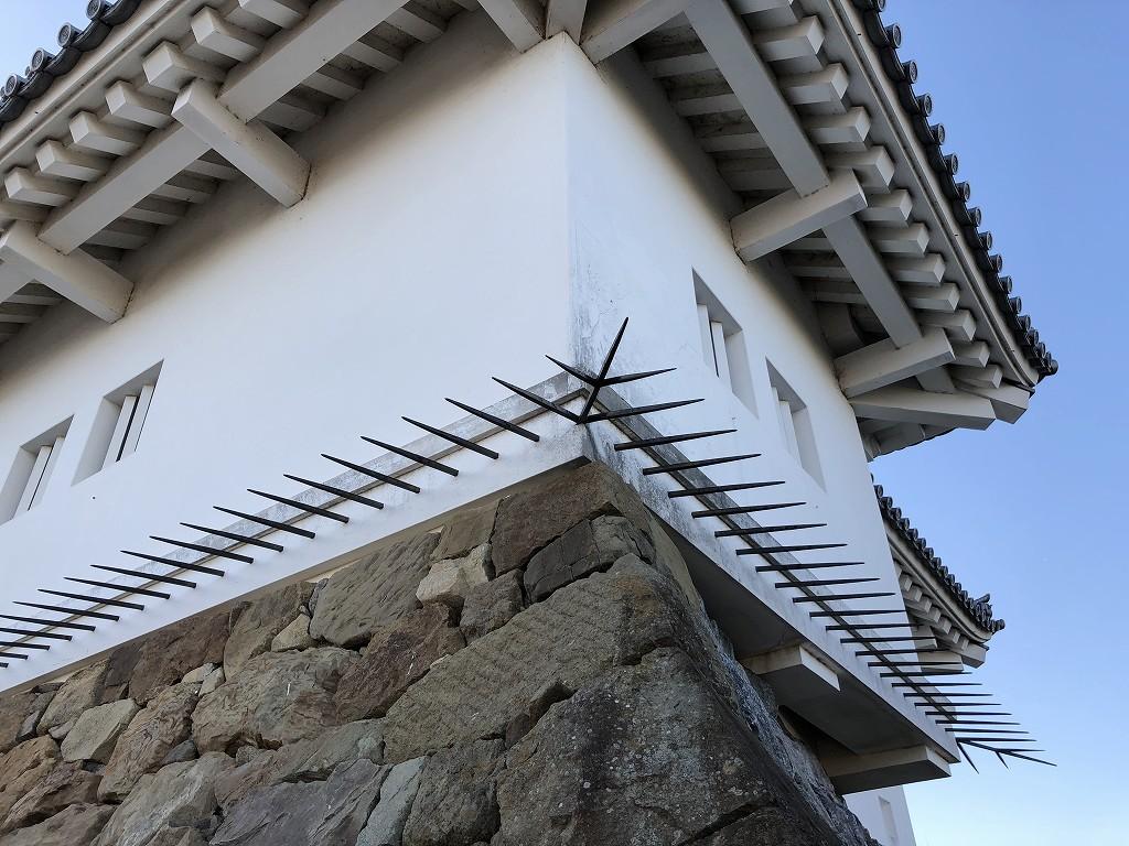 掛川城の忍返