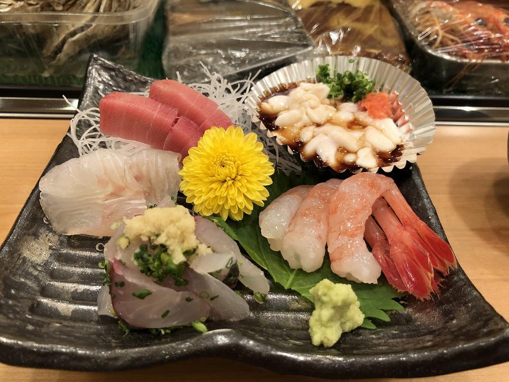 磐田の寿司好の刺盛り