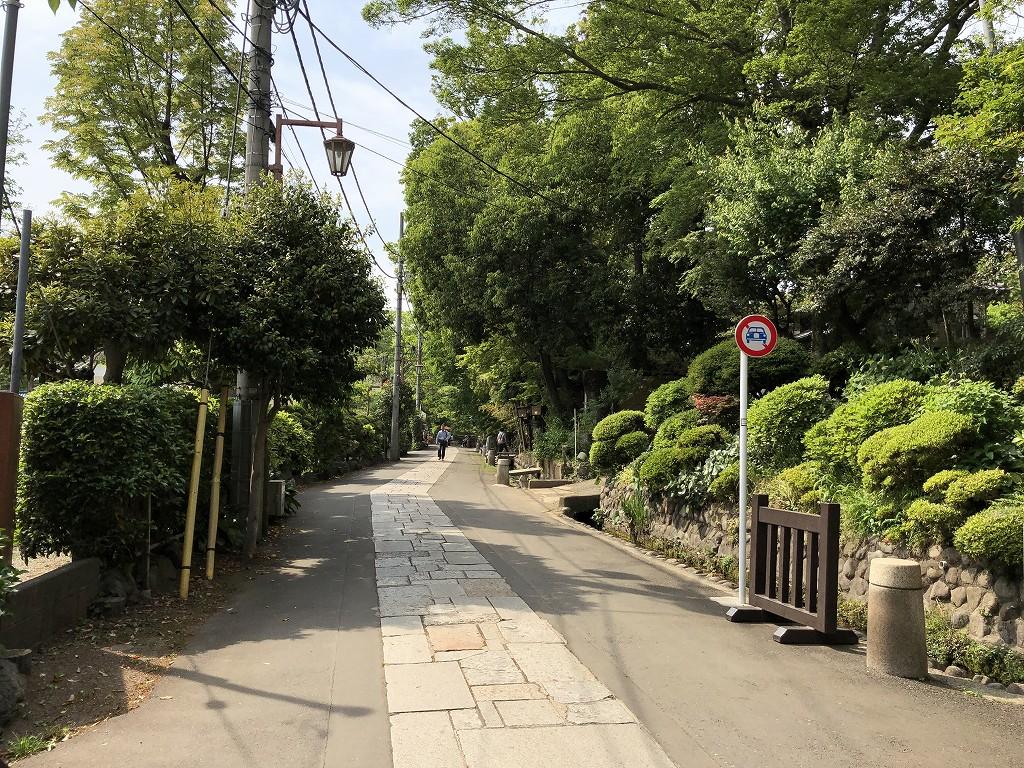 深大寺の門前町1