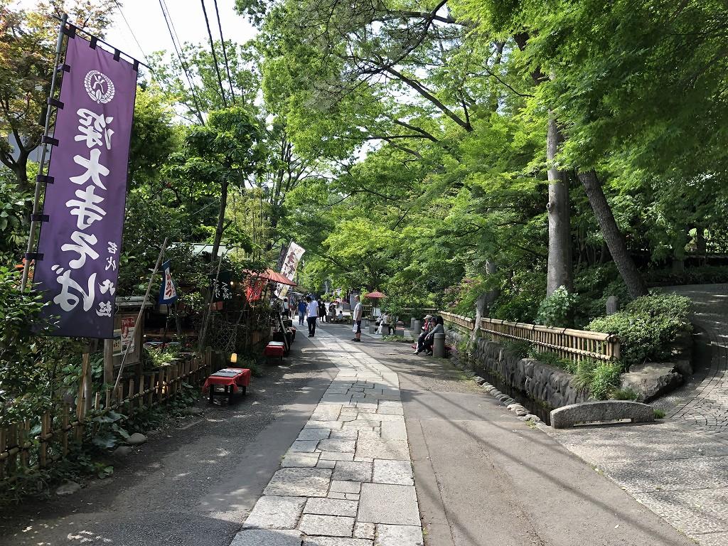 深大寺の門前町4