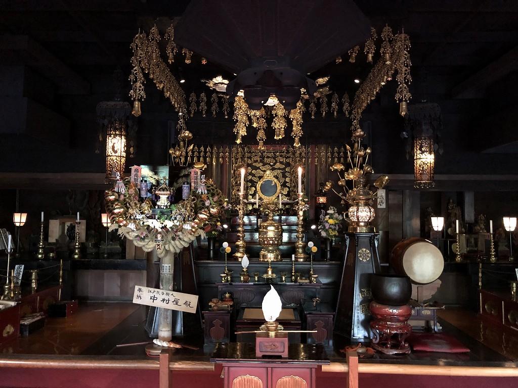 深大寺の元三大師堂