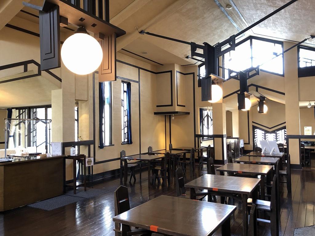 自由学園 明日館の食堂1