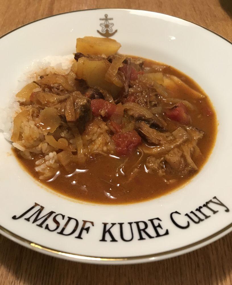 「JMSDF KURE Curry」皿