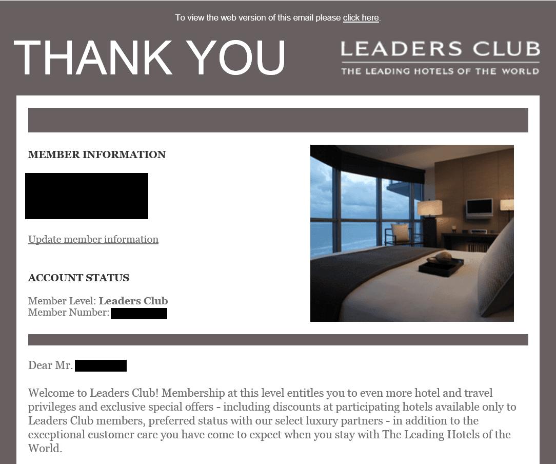 リーダーズクラブ入会完了メール画像