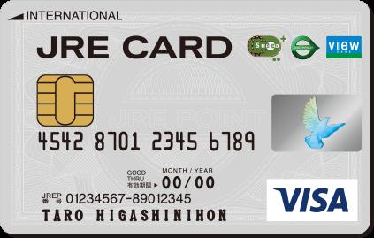 JRE CARD券面デザイン