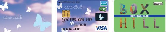 JRE POINTカードとして使えるアトレクラブカード