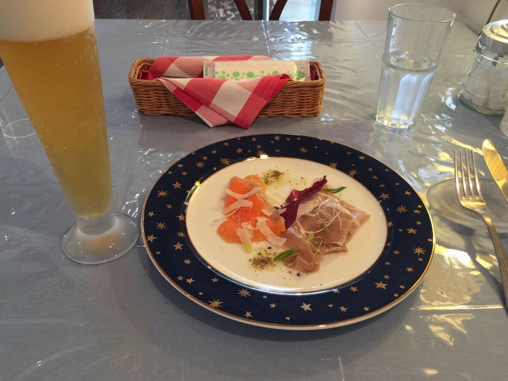 ジュニアペーパームーンのランチコース(前菜)