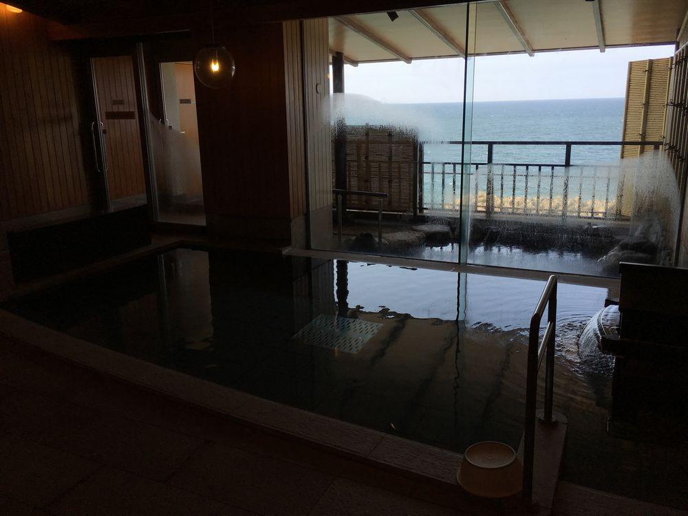 松月の大浴場と露天風呂