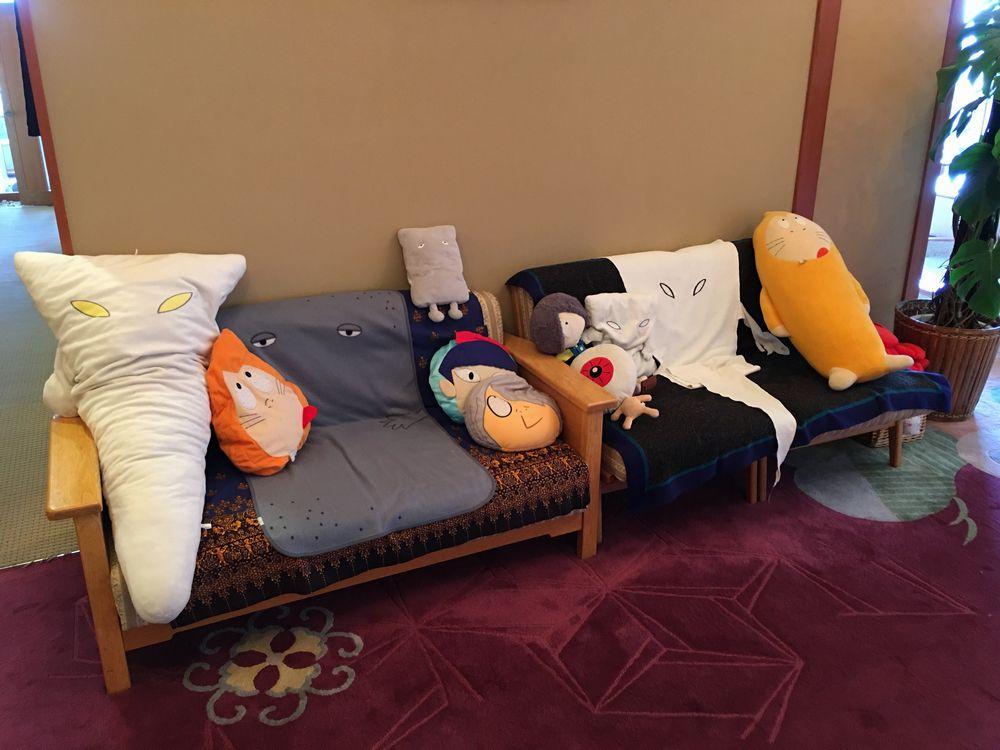 松月のソファ
