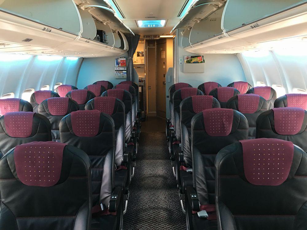 JAL185便のJAL SKY NEXTの普通席