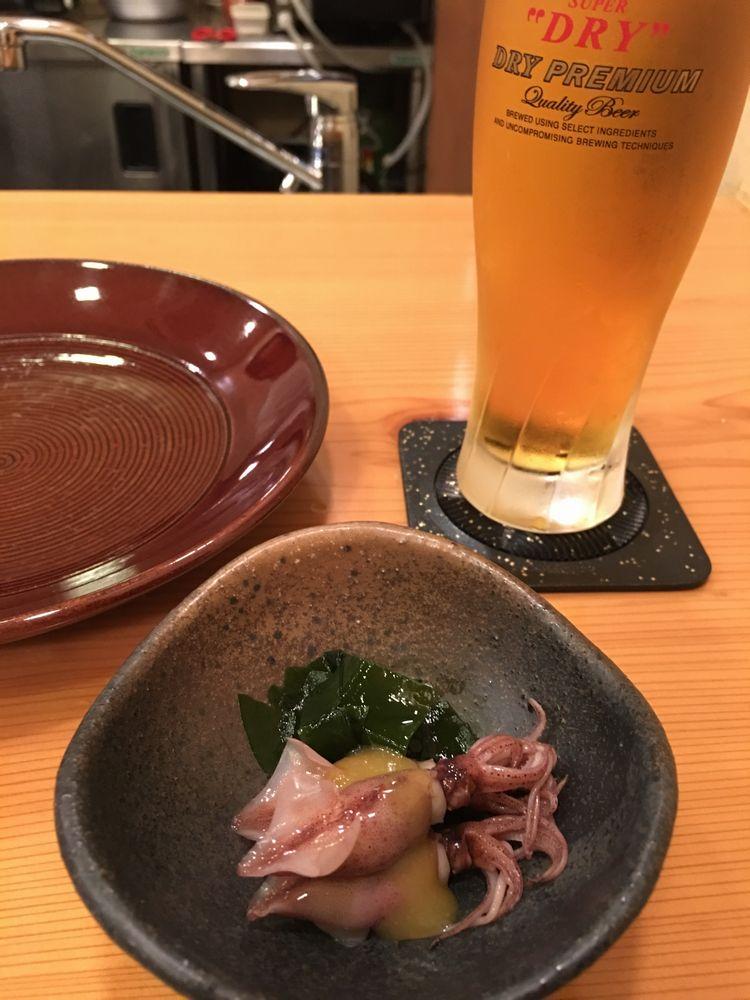森しげのホタルイカの酢味噌