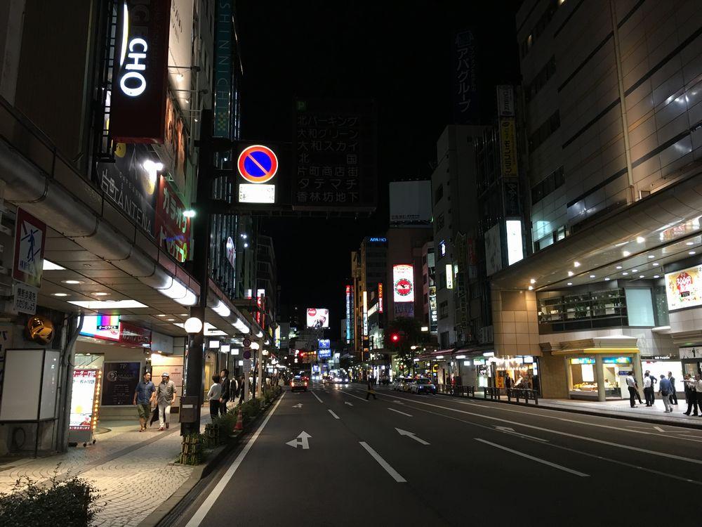 金沢の片町繁華街