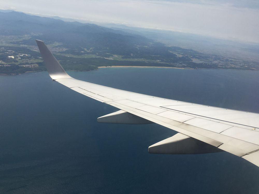 羽田-小松の飛行ルート2