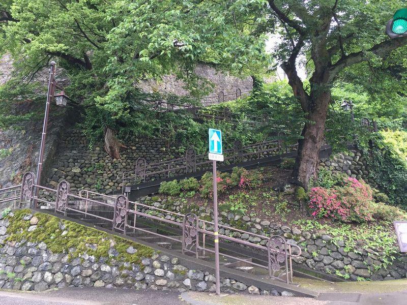 金沢のW坂
