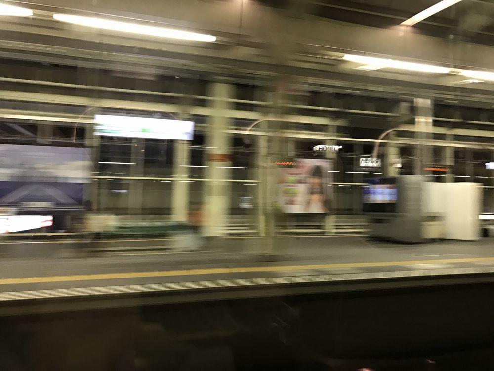 かがやき510号から撮影した高崎駅