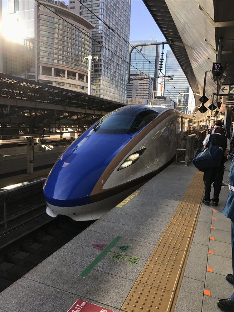東京駅のはくたか569号