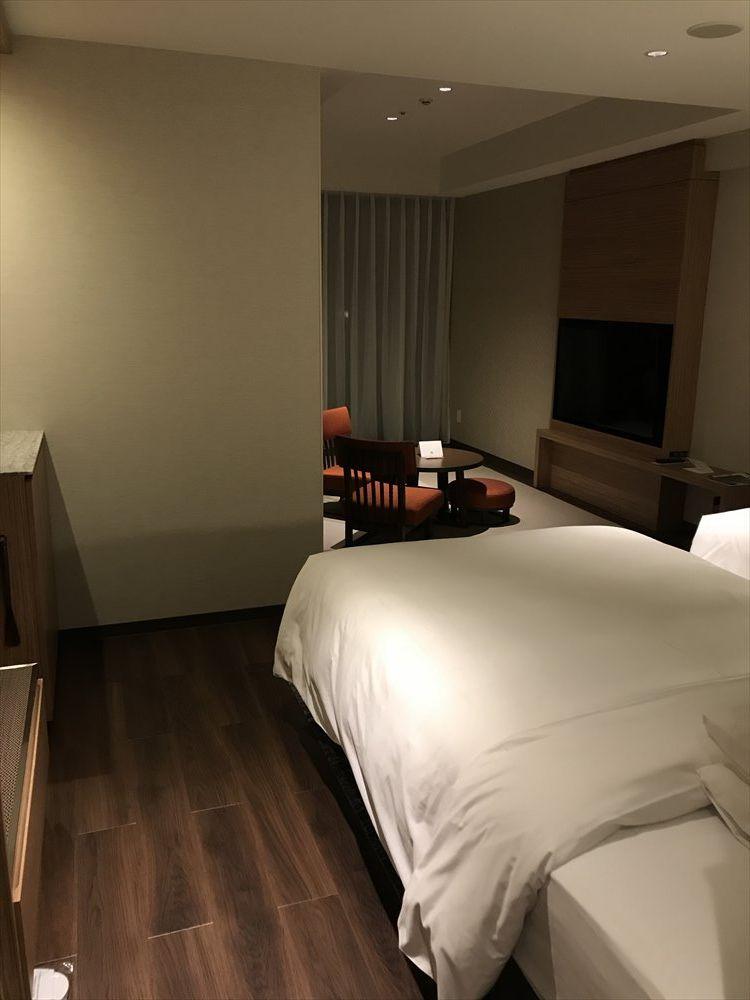 軽井沢マリオットホテルの温泉ビューバス付プレミアルーム1