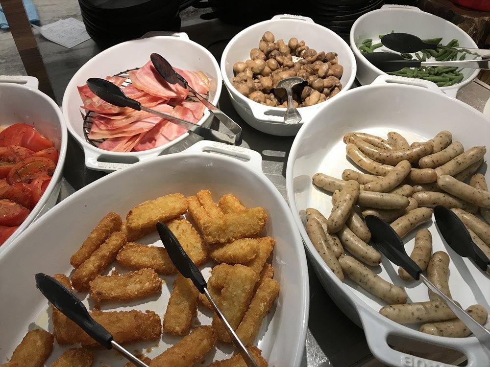 軽井沢マリオットホテルの朝食1