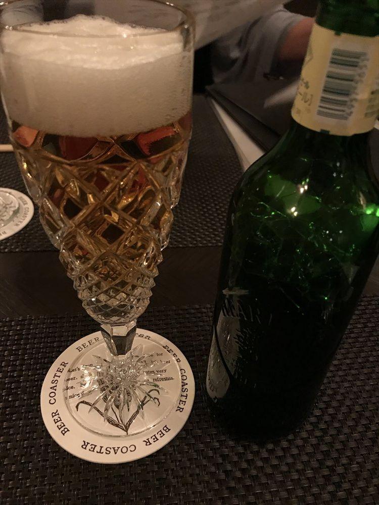 ビストロじゅんのハートランドビール小瓶