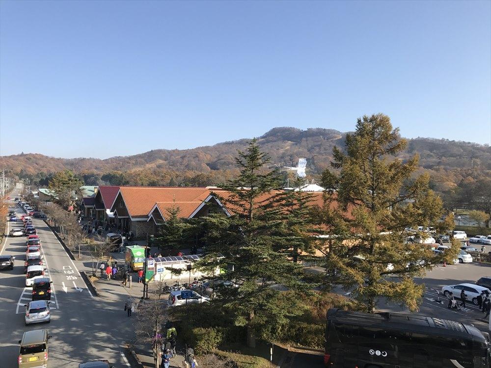 軽井沢駅からプリンススキー場1
