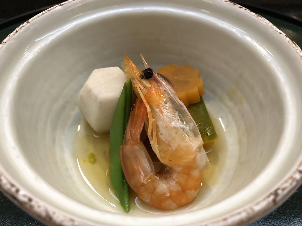 川越プリンスホテル「和食むさし野」の煮物