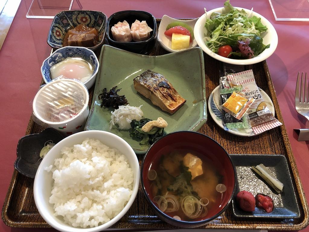 川越プリンスホテルのブッフェレストラン「エトワール」の和朝食