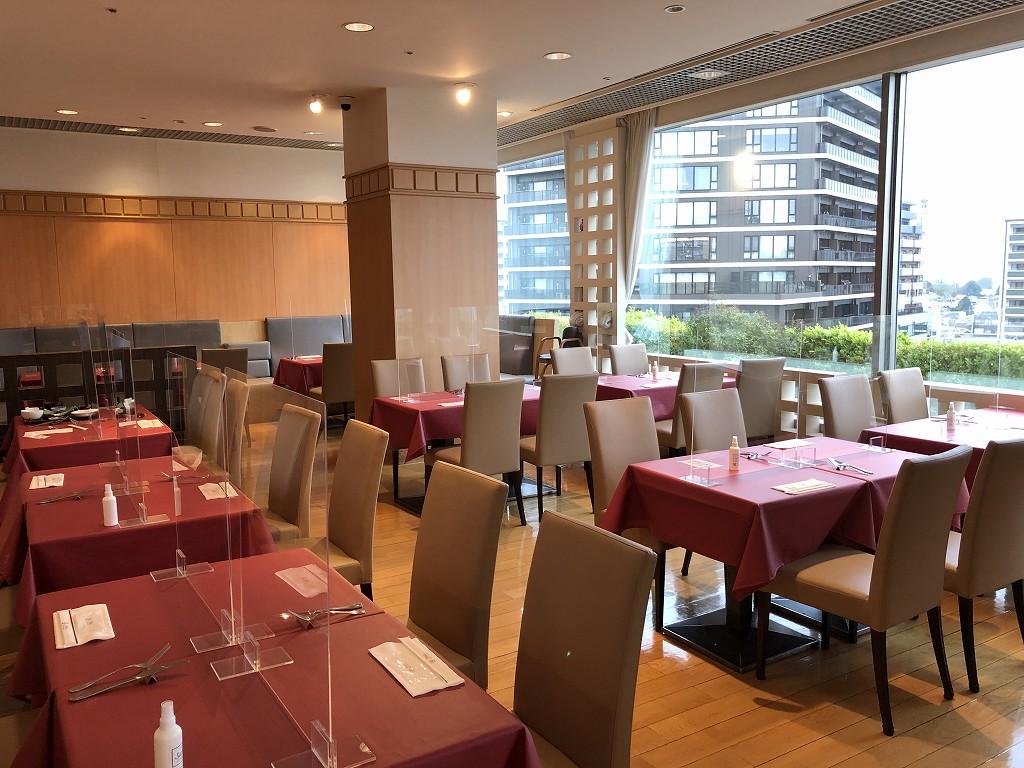 川越プリンスホテルのブッフェレストラン「エトワール」1